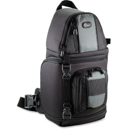 Amazon.com : Lowepro Slingshot 102 DSLR Sling Camera Bag : Camera ...