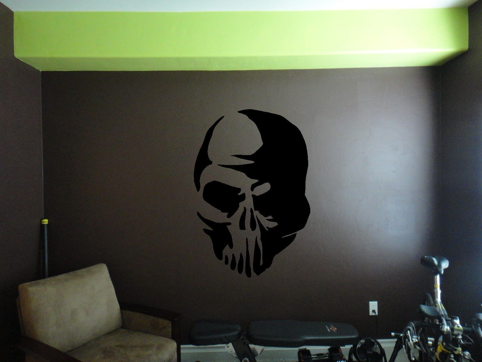 Skull Wall Sticker