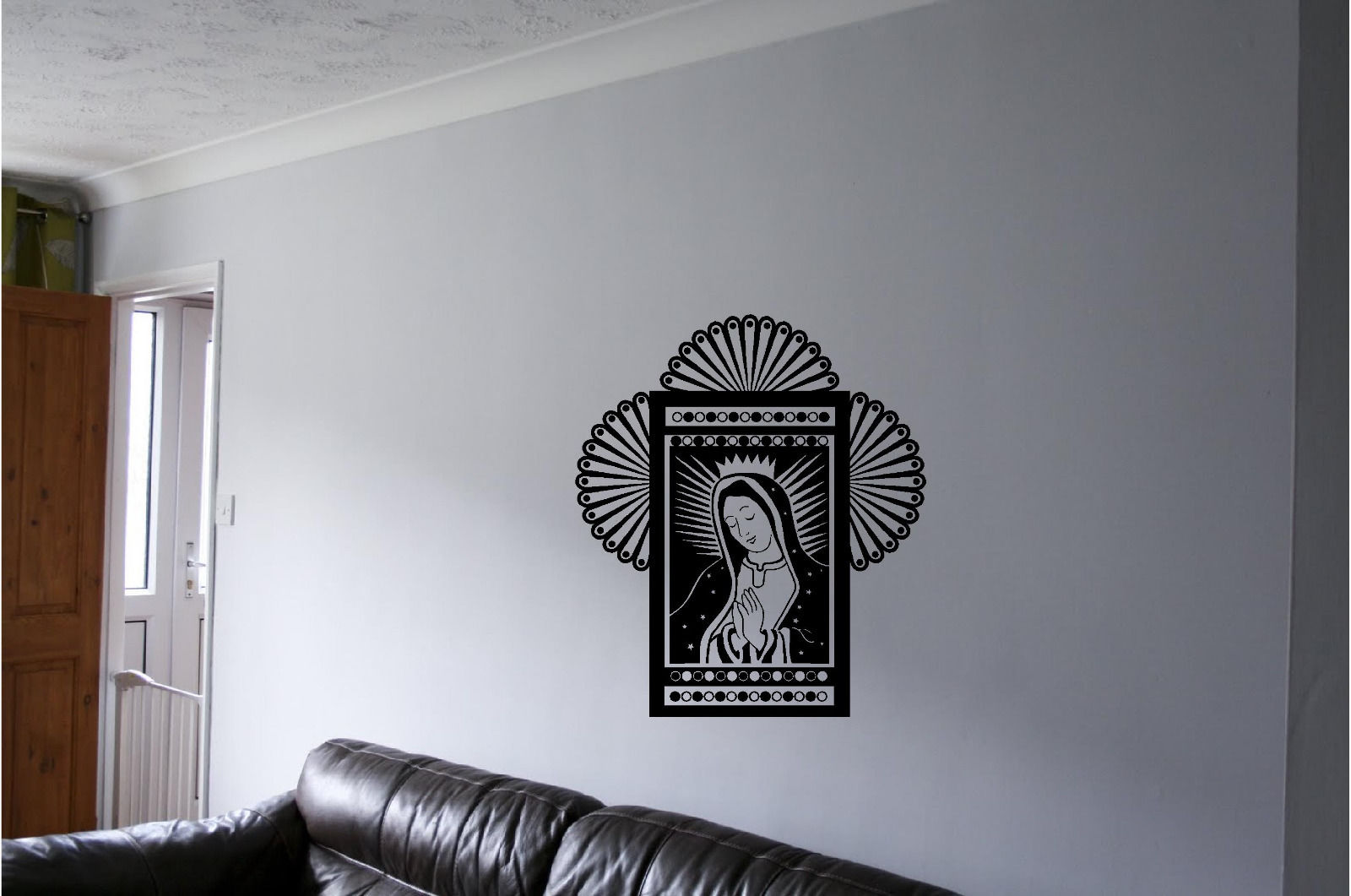 Mother Mary Wall Sticker Wall Art Decor Vinyl Decal Mural Wall Stickers