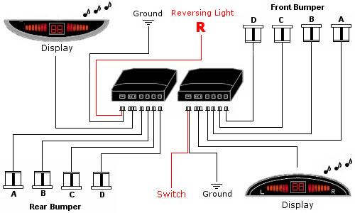 Dppk4 - Front  U0026 Rear Sensors