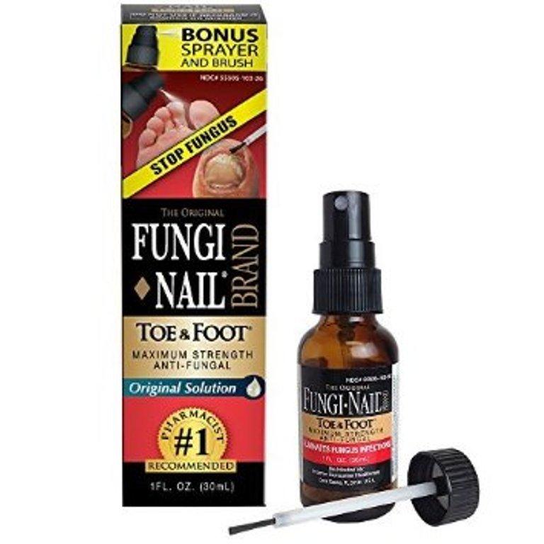 Fungi-Nail® Toe & Foot® Anti-fungal Solution – 1oz Maximum Strength
