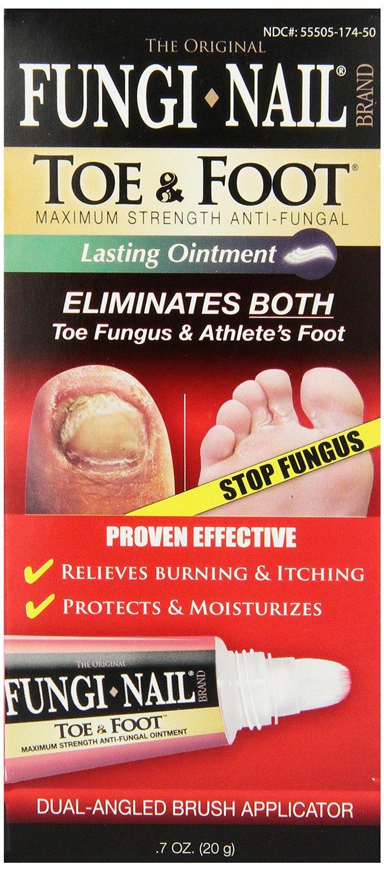 Fungal Treatment Toe Fungus Athletes Foot Fungi Nail Ointment