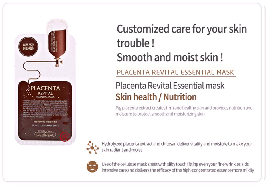 Image result for mediheal placenta mask