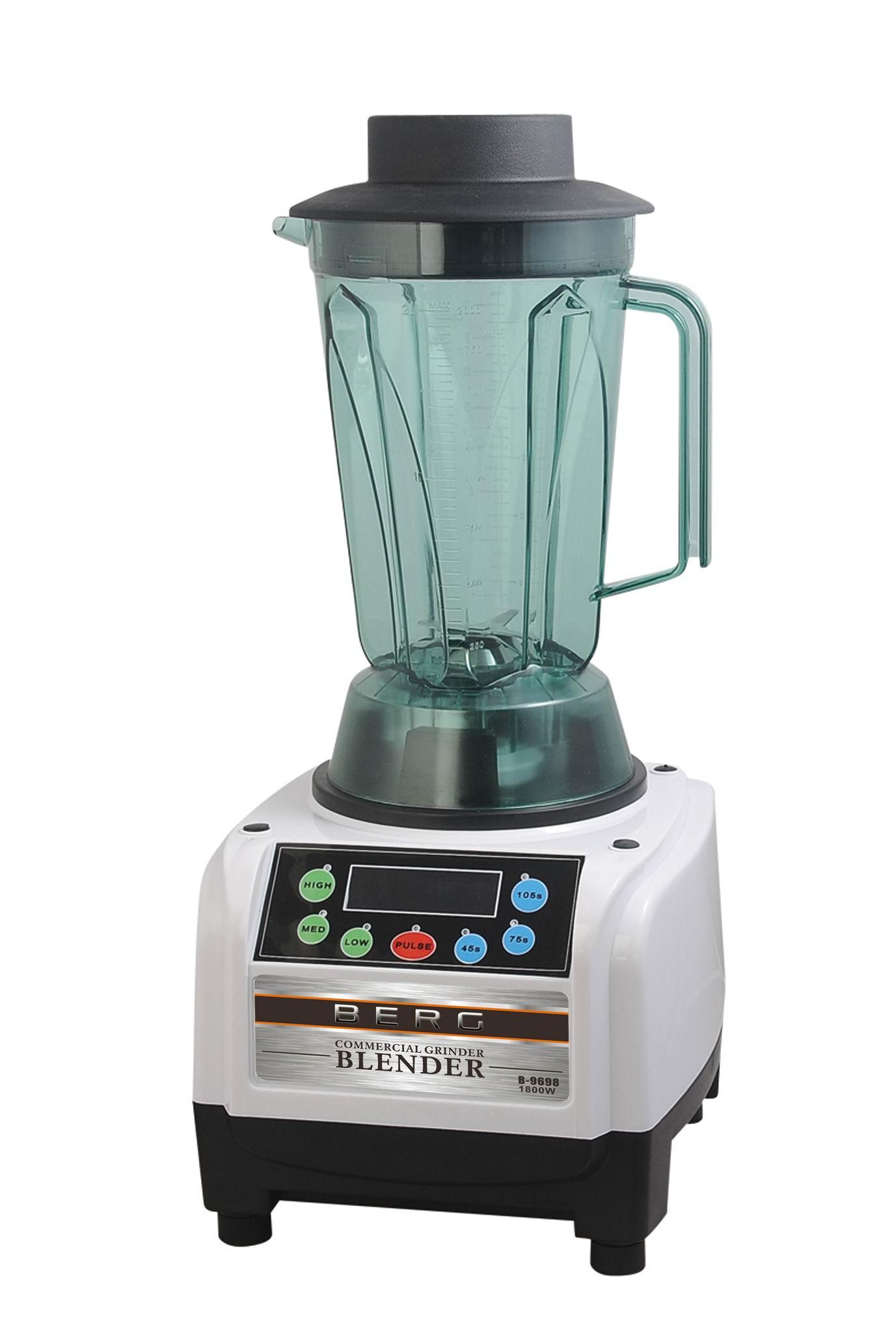 Berg J100 Pro Slow Juicer Review : BERG 1800W 2.5HP SMART COMMERCIAL FOOD BLENDER SMOOTHIE MAKER ICE CRUSHER