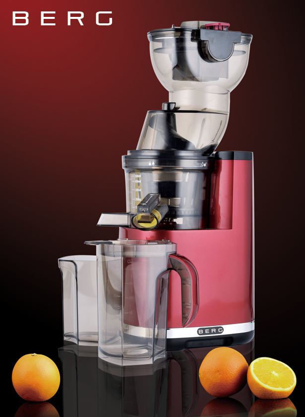 Professional Masticating Slow Juicer : BERG J250 Pro Slow Juicer