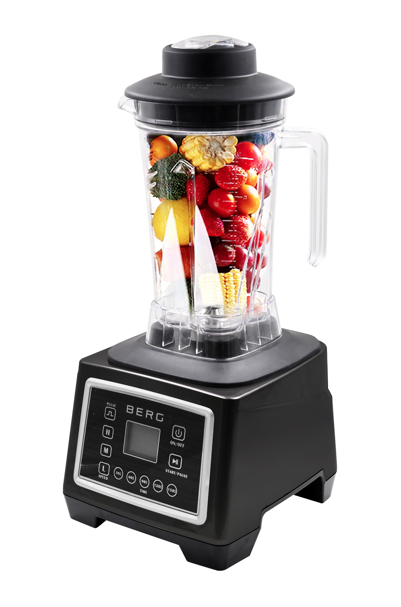 BERG 2200W 3HP SMART COMMERCIAL FOOD BLENDER SMOOTHIE MAKER ICE CRUSHER