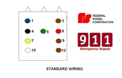 Wiring Diagram For Federal Signal Pa300 – powerking.co