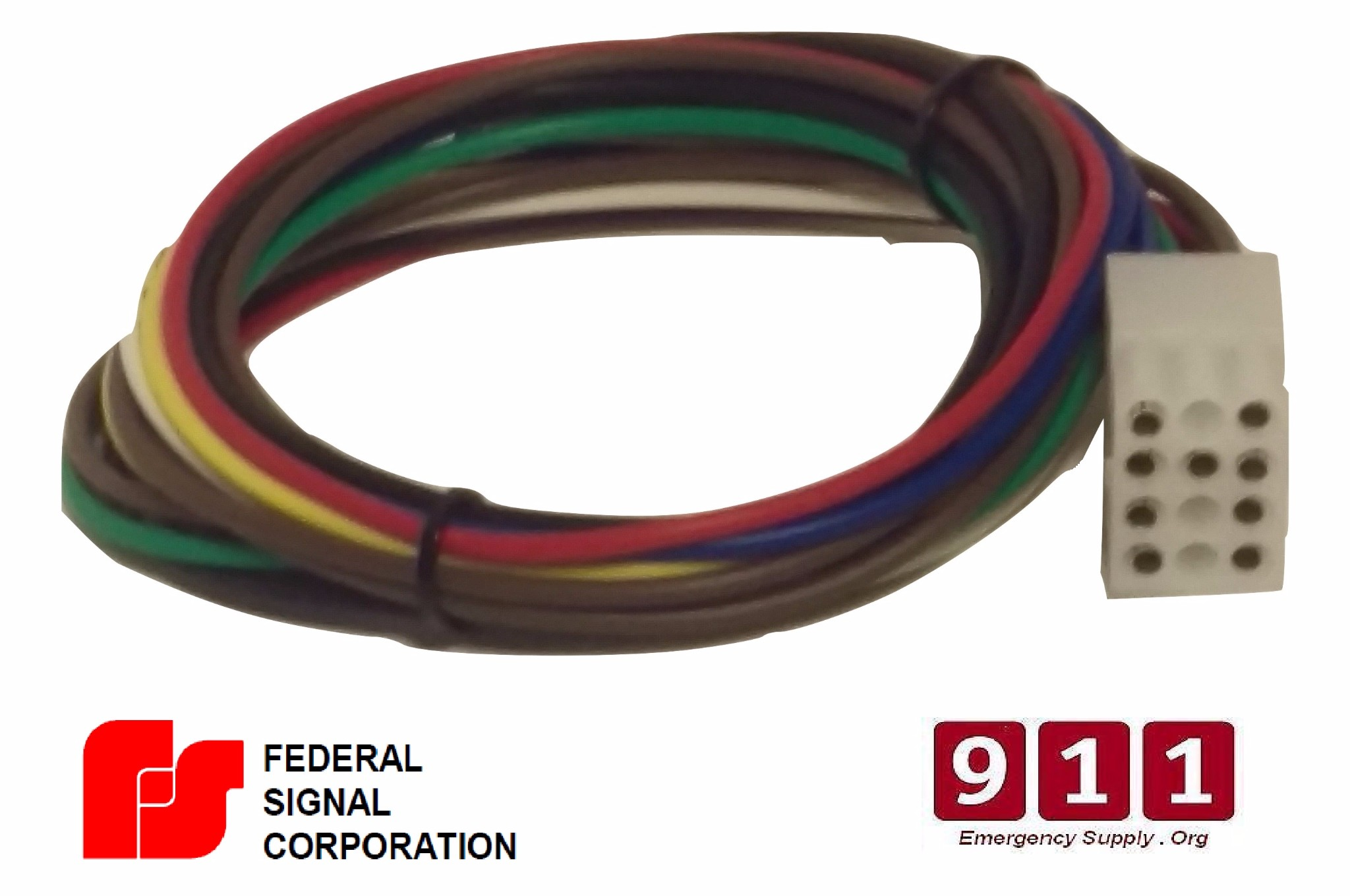 federal signal siren power harness plug cable 12 pin pa300 siren federal signal model ss2000 lms smartsystem™ load
