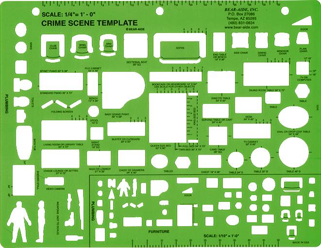 crime scene template