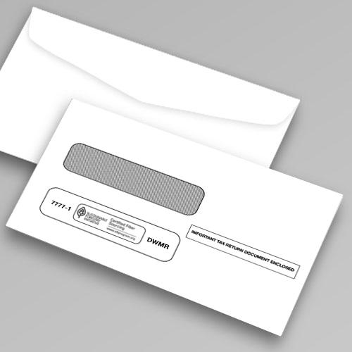 Tax Form Envelope