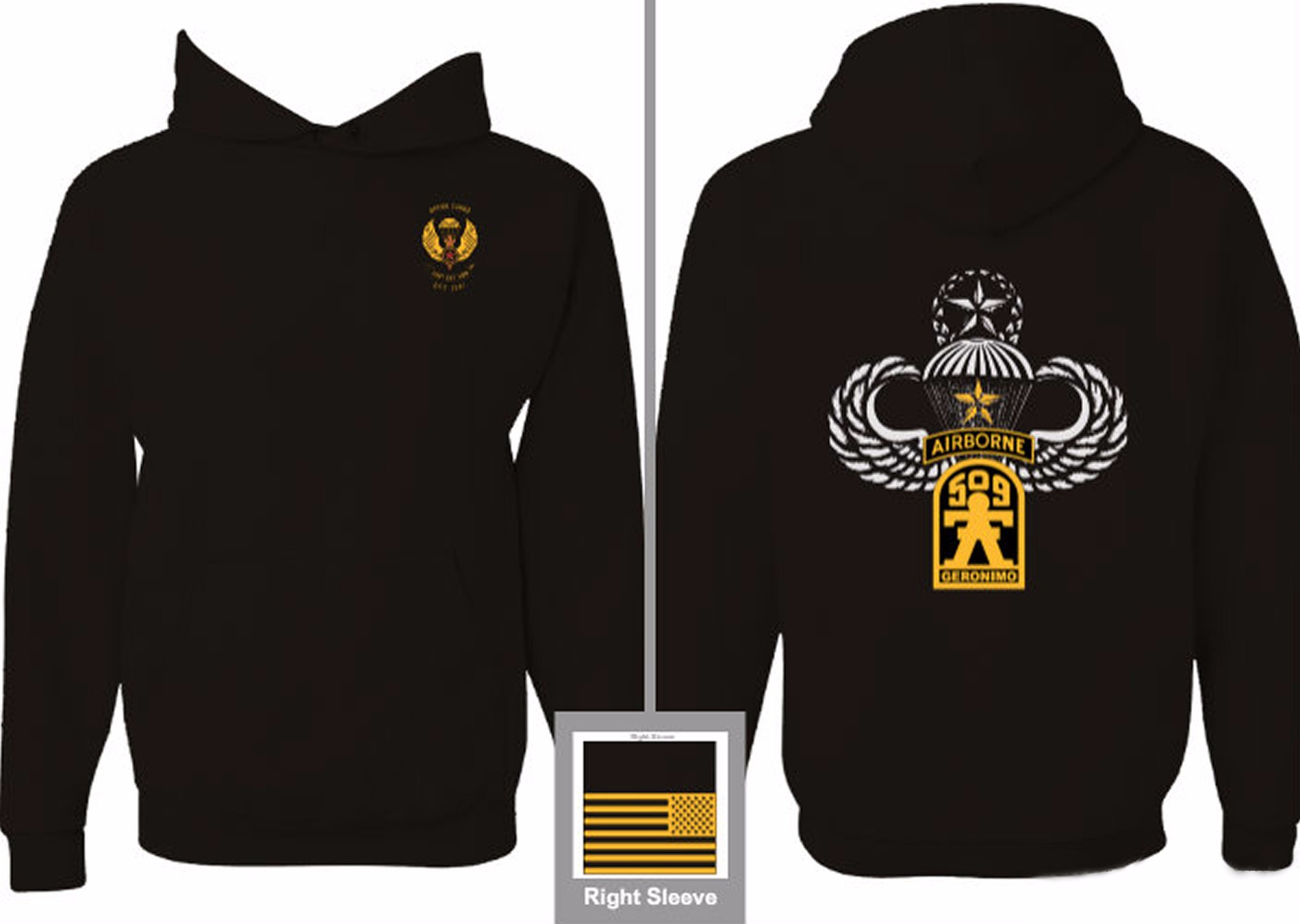 Opfor Cadre Pull Over Hoodie