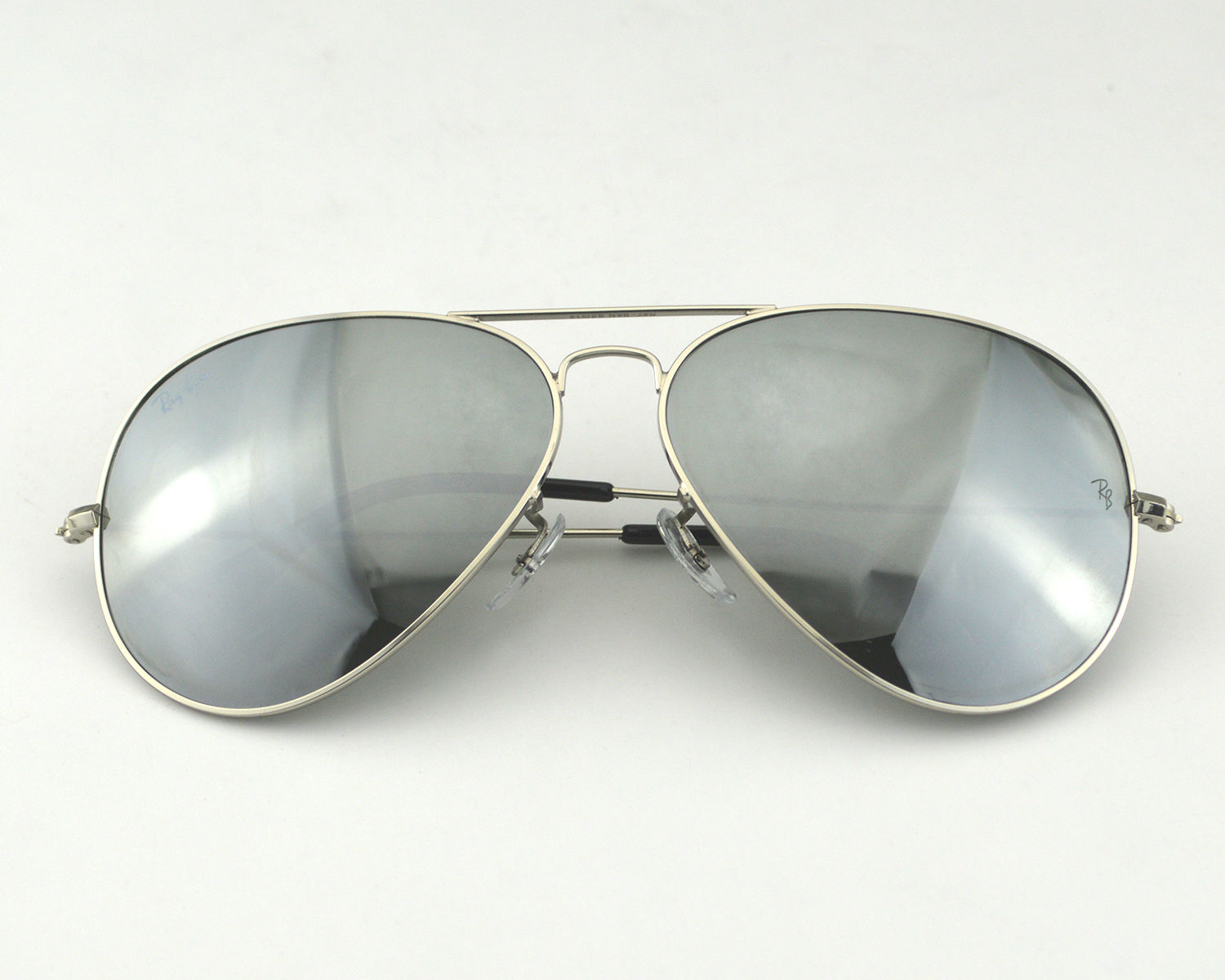 ray ban sunglasses aviator rb3026  ray ban rb3026 aviator large metal Ⅱw3277 silver mirror lens sunglasses 62mm