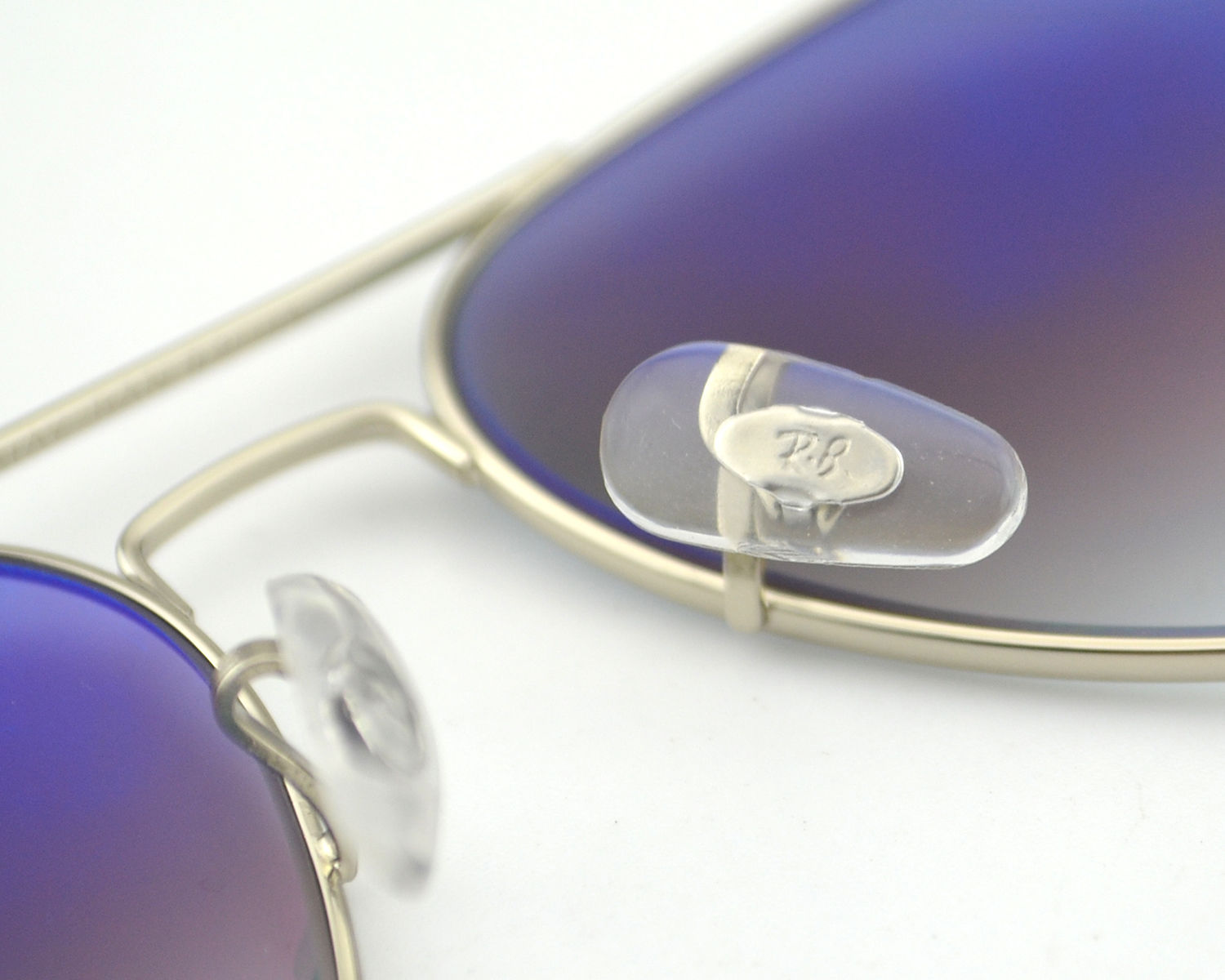 ray ban rb3026  Ray Ban RB3026 Aviator Large Metal 003/32 Linght Grey Gradient ...