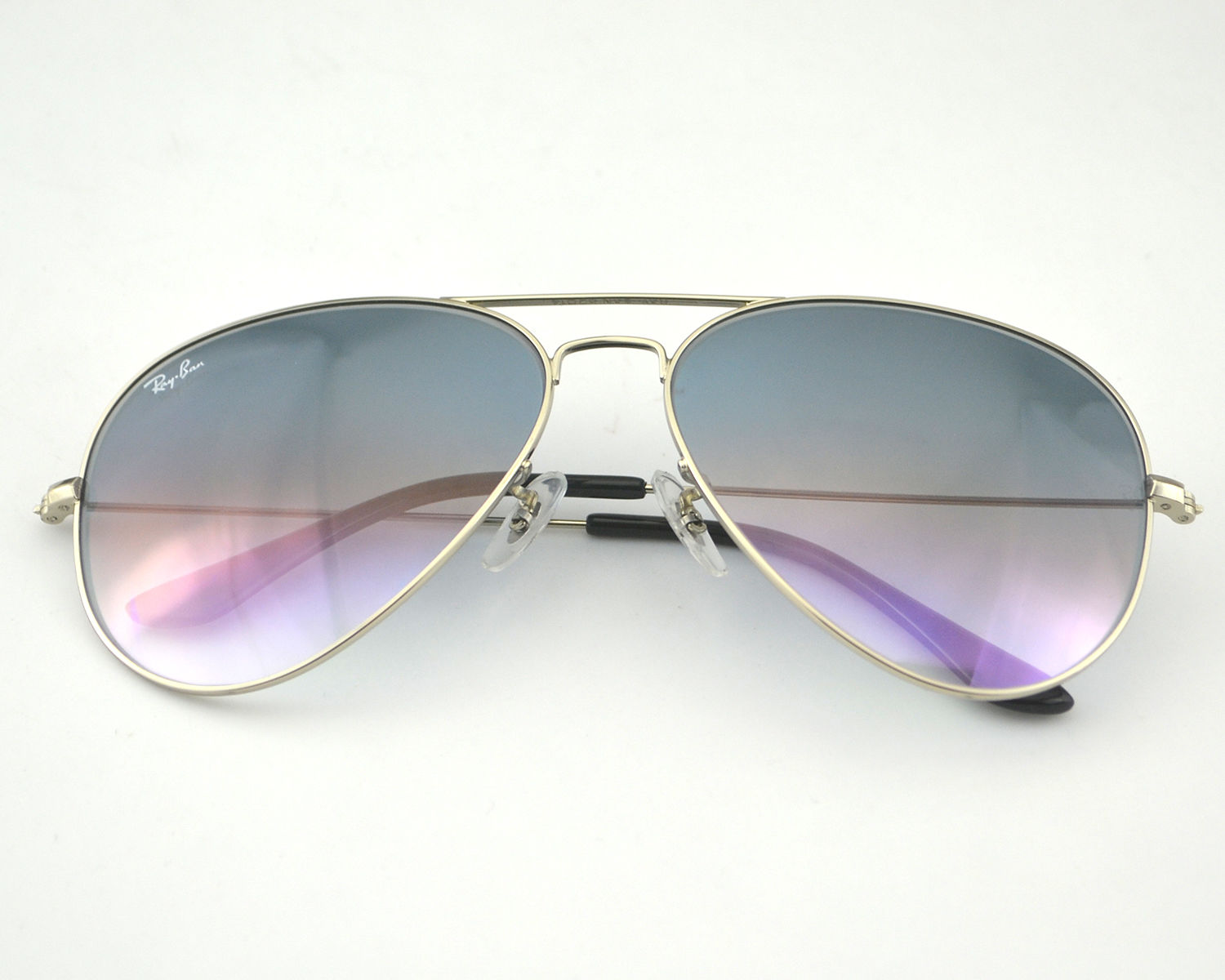 ray ban rb3026  Ban RB3026 Aviator Large Metal 003/32 Linght Grey Gradient Lens ...