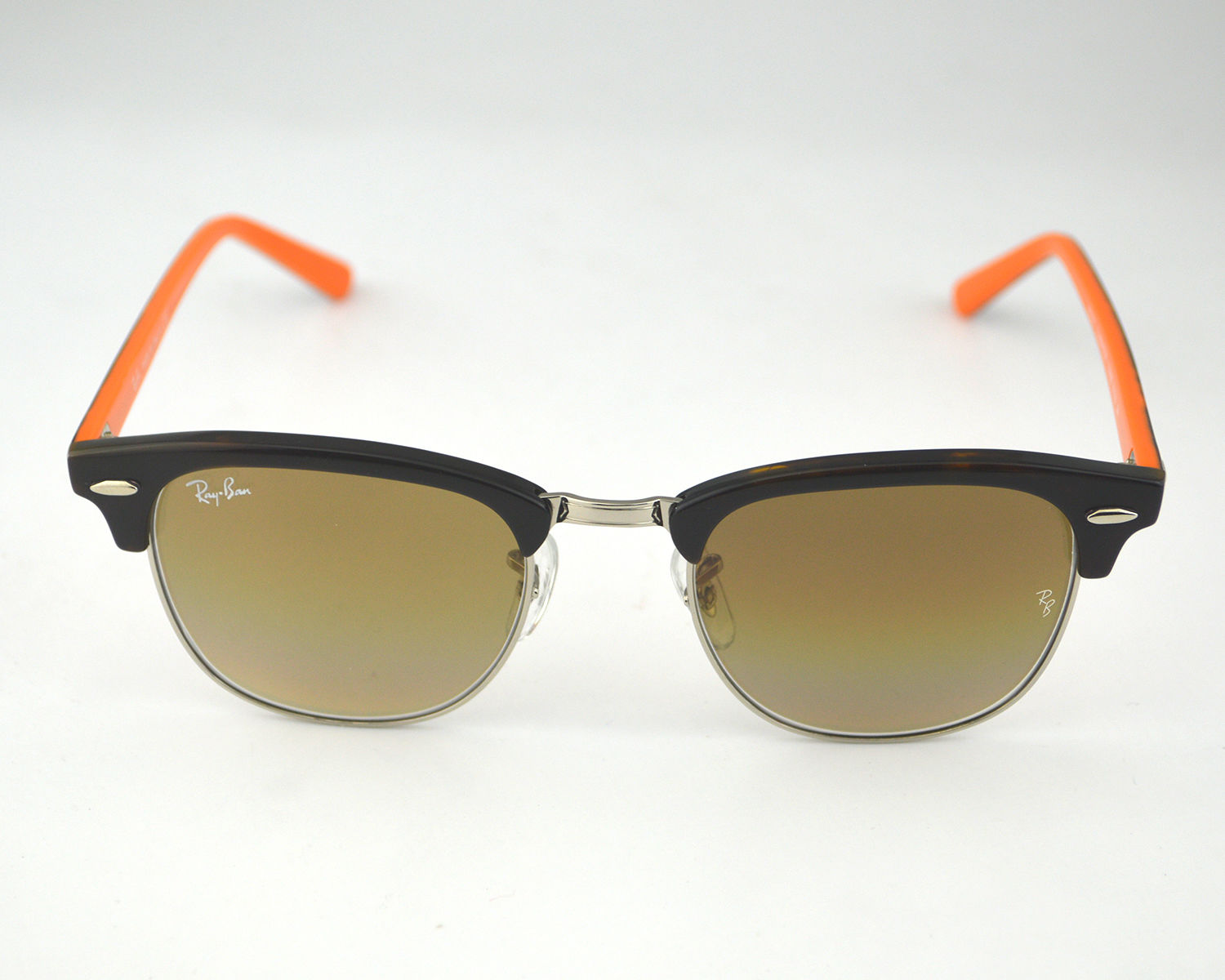 rb3016 51  Ban RB3016 Clubmaster Color Mix 112685 Tortoise Orange Frame ...