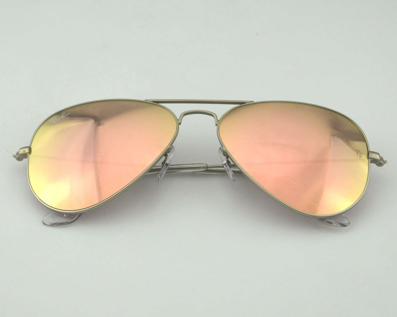Ray Ban Rb3025 Aviator 019 Z2 Silver Copper Flash