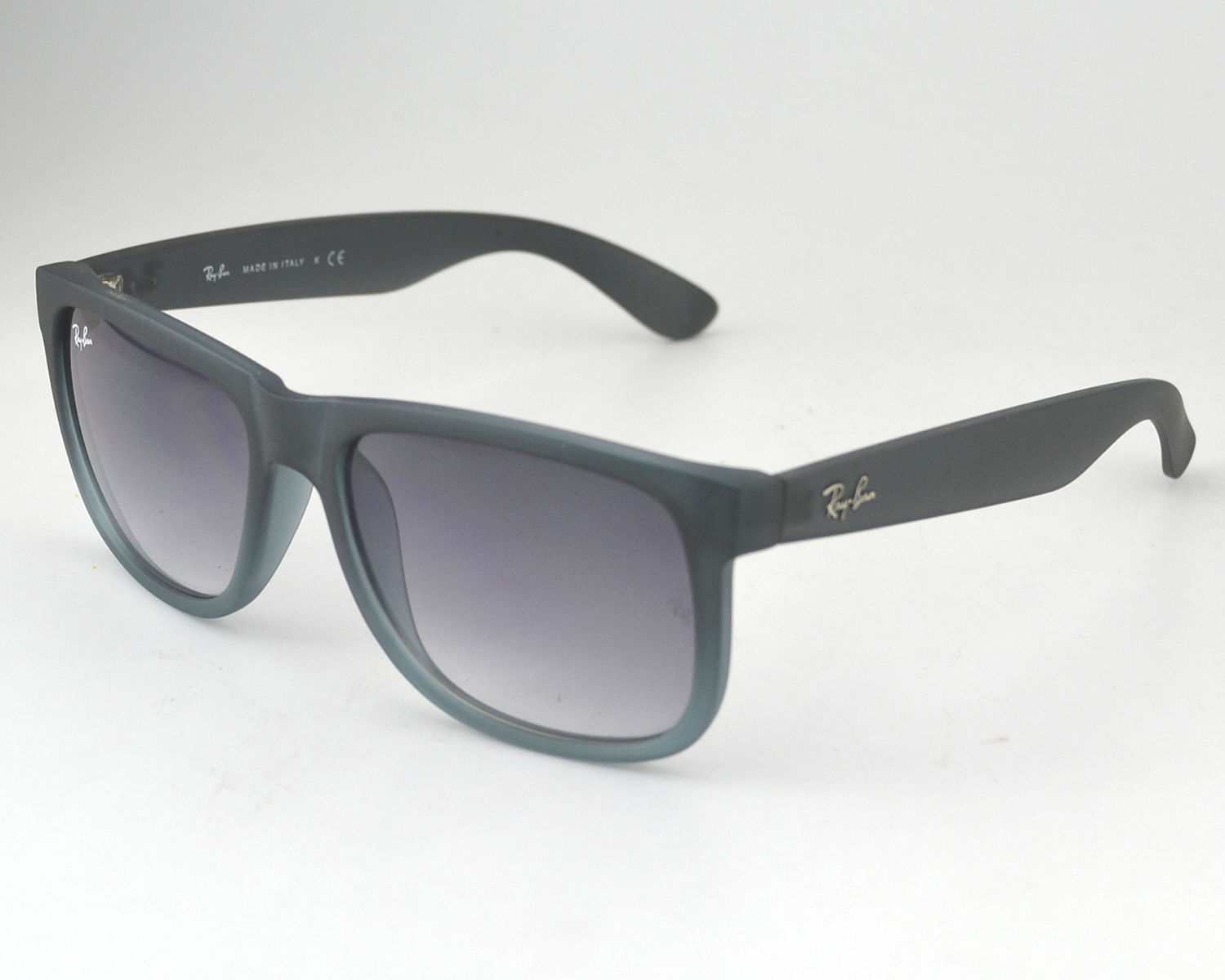 Ray-Ban RB4165 Justin Classic 852/88 Rubber Grey Frame/ Grey ...