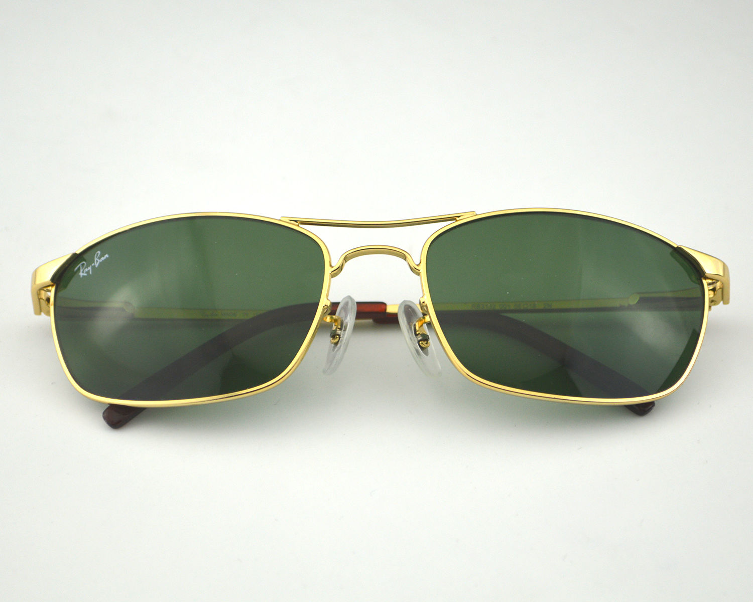 Ray-Ban RB3132 001 Gold Metal Frame/Green Classic Lens