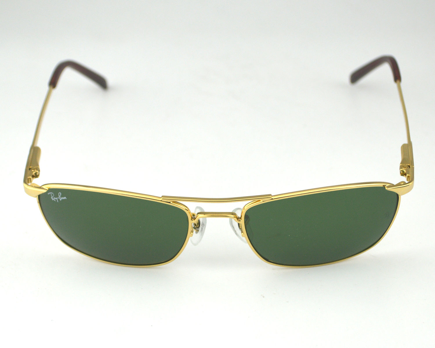 Ray-Ban RB3132 001 Gold Metal Frame/Green Classic Lens ...