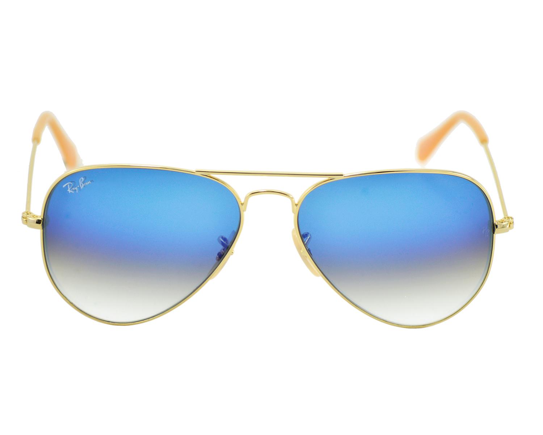ray ban sunglasses aviator gradient