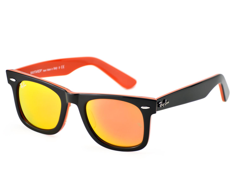 Ray-Ban Unisex Rb2140 Wayfarer Wayfarer Sonnenbrille, Black