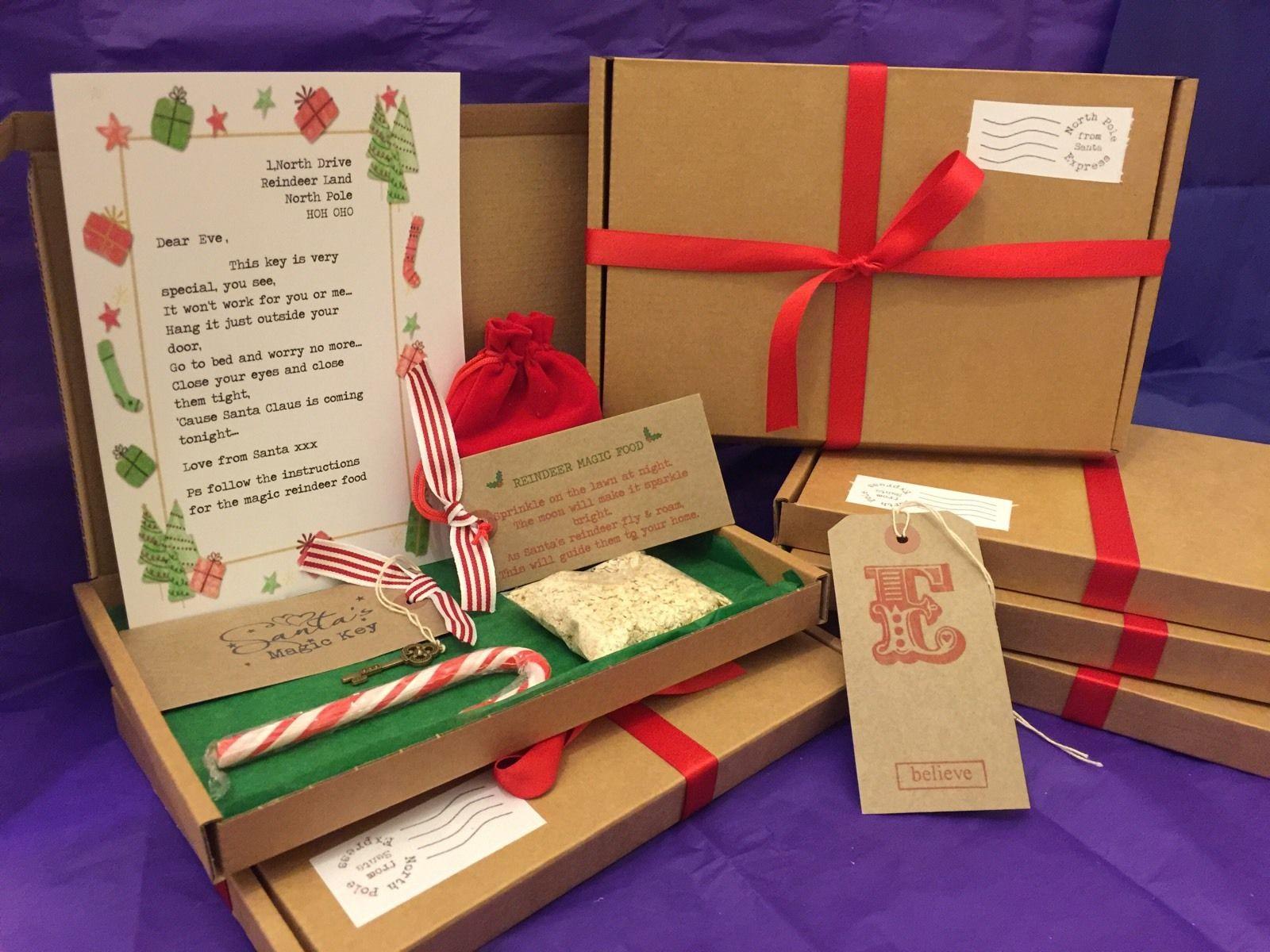 Santa christmas eve box personalised a5 size letter magic key santa christmas eve box personalised a5 size letter magic key reindeer food spiritdancerdesigns Choice Image