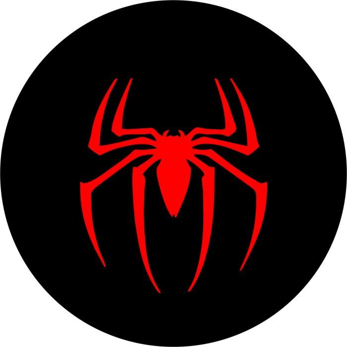 Spider Logo Spare Tire Cover