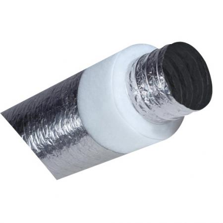 R 1 0 6 150mm Flexible Insulated Fan Duct Ducting Flex