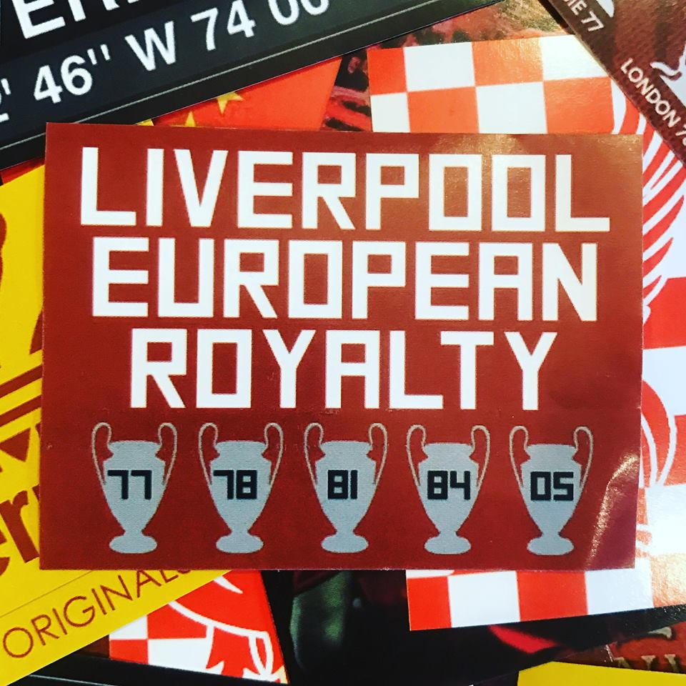 Liverpool stickers