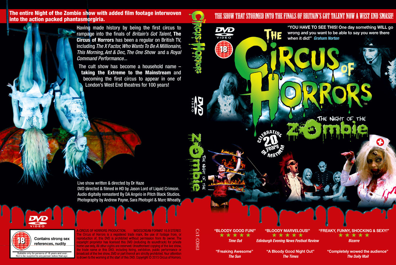 night of the zombie dvd