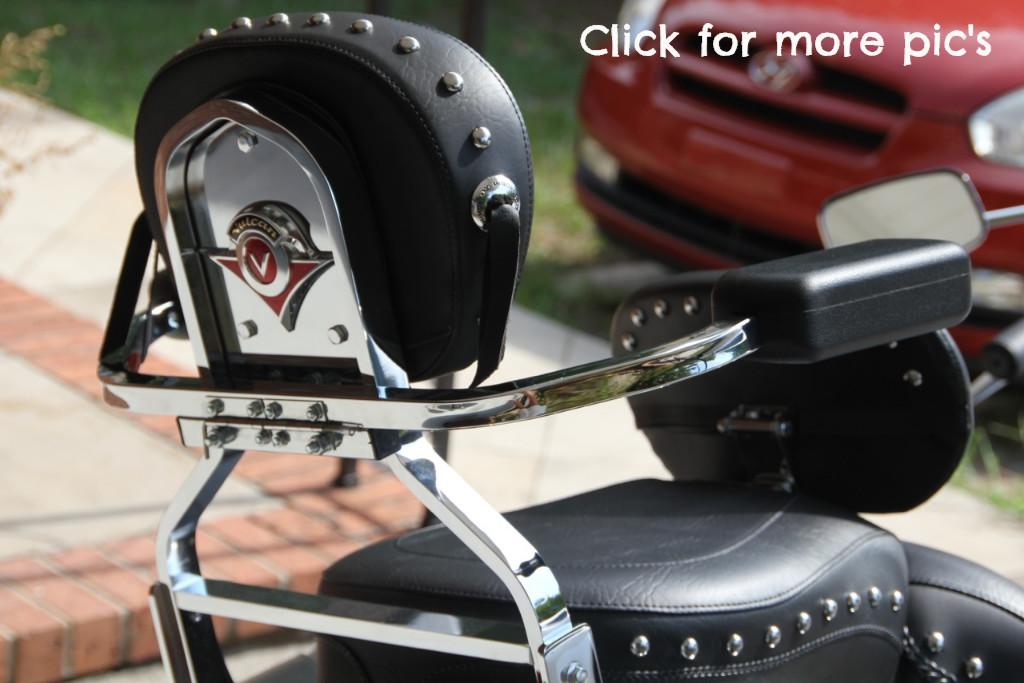 Motorcycle Passenger Armrests Yamaha