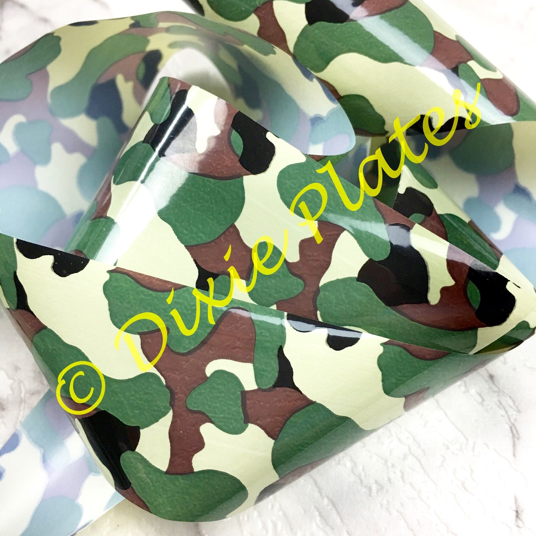 Camouflage Nail Art Foil 1 Meter