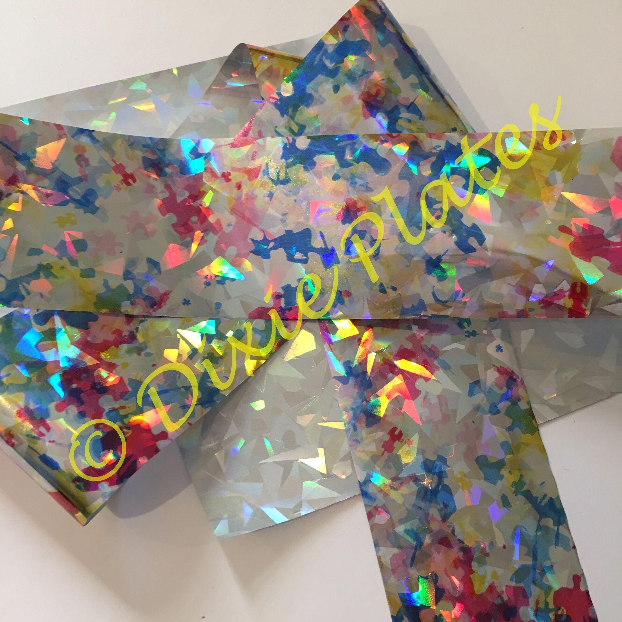 Electric Rainbow Nail Art Foil   Electric Rainbow Nail Art Foil by ...