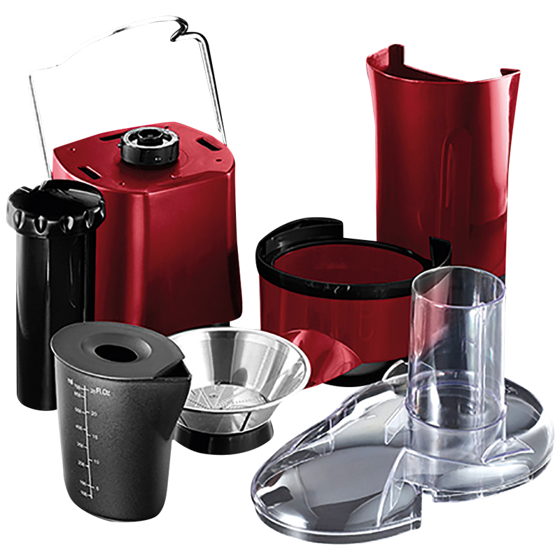 RUSSELL HOBBS DESIRE JUICE EXTRACTOR - RED