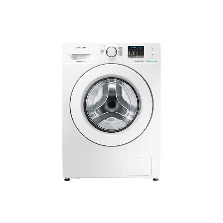 Samsung 8kg 1200spin A Eco Bubble Washing Machine White