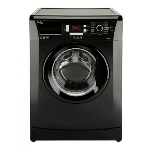 beko 7kg 1400 spin a washing machine black. Black Bedroom Furniture Sets. Home Design Ideas