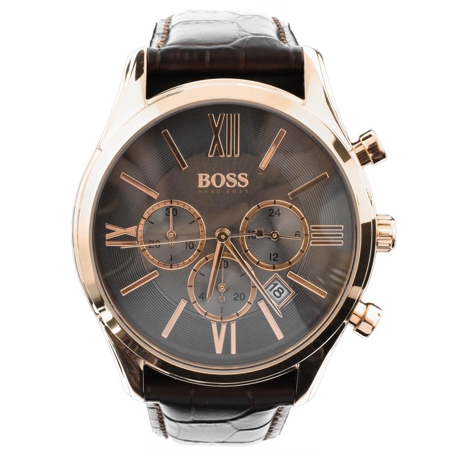 Hugo Boss 1513198 Mens Rose Gold Ambassador Watch