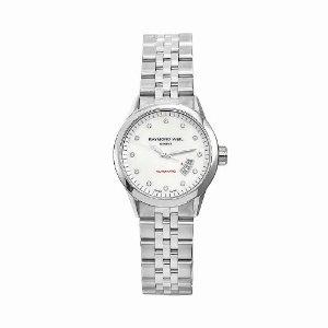Raymond Weil Women s Freelancer Stainless Steel Silvertone Dial Watch 29c49c8f1d