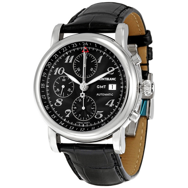Montblanc Star Chronograph Gmt Automatic Mens Watch 102135
