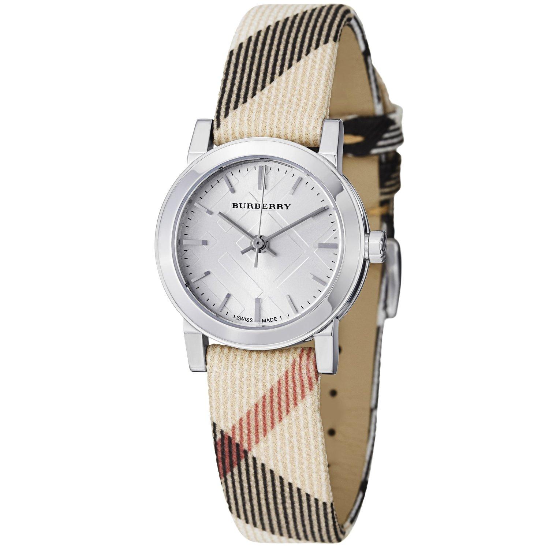 Burberry Bu9212 Ladies Material Strap Watch