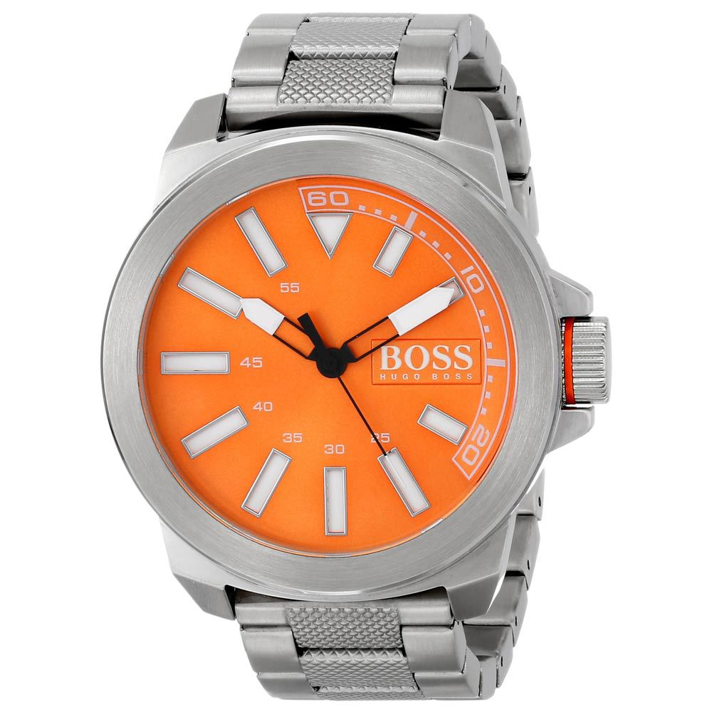 Boss Orange Men S 1513007 New York Analog Display Quartz