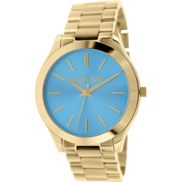 1d9ce1bcb9e5 ... Michael Kors MK3265 Womens Watch Michael Kors MK5894 Channing Turquoise Dial  Gold-tone Ladies Watch MK5894 Michael ...