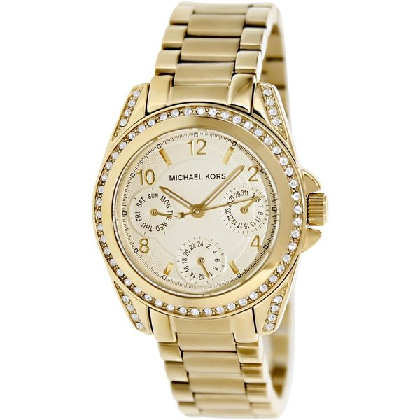 Michael Kors Women S Mk5639 Blair Gold Tone Watch
