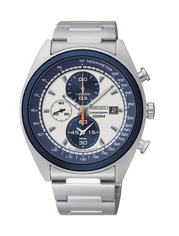 Seiko Chronograph Gents Bracelet Watch Sndf87p1