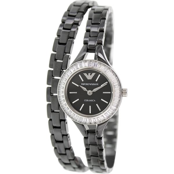 Emporio Armani AR1483 Classic Black Ladies Ceramic Bracelet Watch 11475ca432