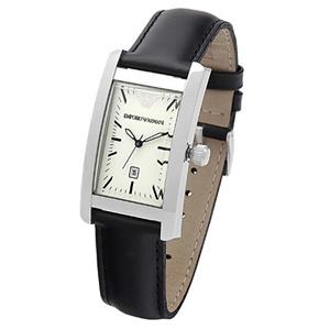 Emporio Armani Ar0103 Ladies Classic Leather Strap Designer