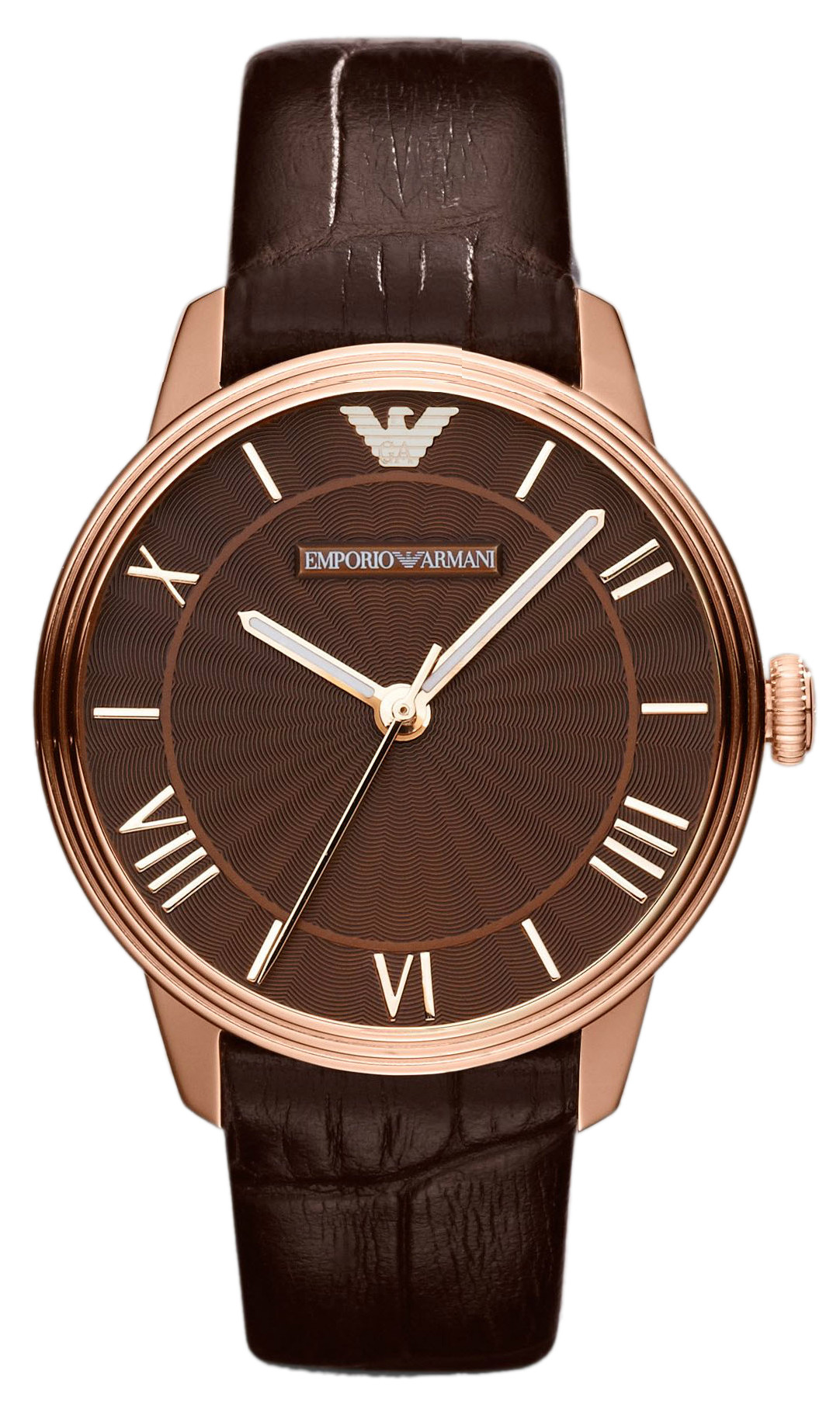 Emporio Armani Watches AR1619 Ladies Brown Classic Dino Watch
