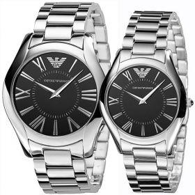 Emporio Armani Ar2022 And Ar2023 His And Hers Armani Watches