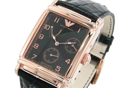Armani horloge rose goud