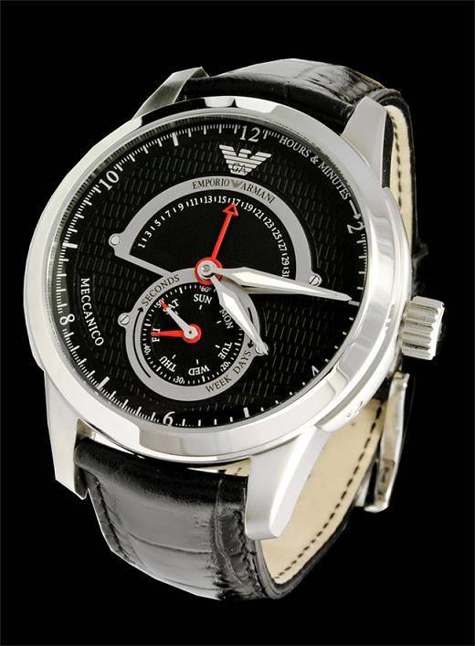 Emporio Armani Ar4612 Mens Meccanico Designer Posh Watch
